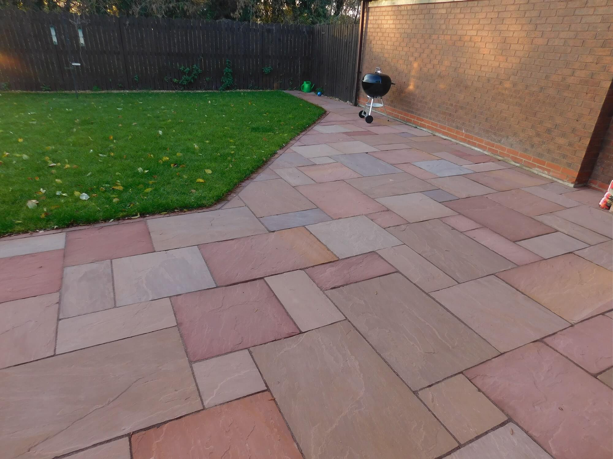 indian flagstone driveways
