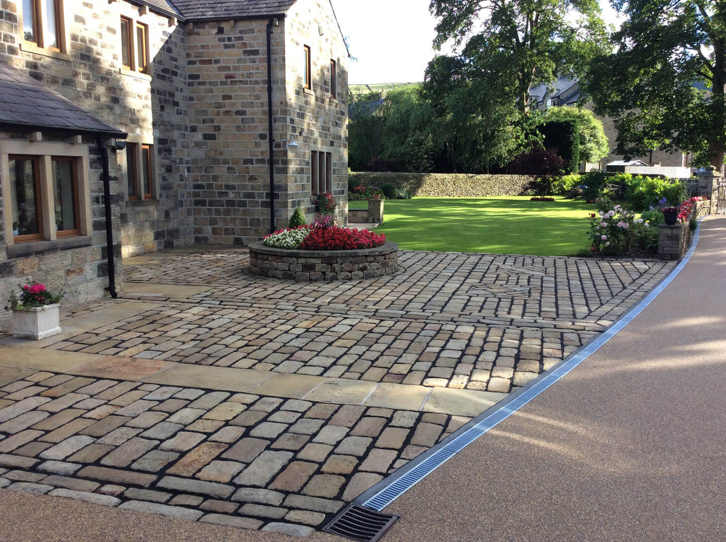 Front Garden Area Block Paving